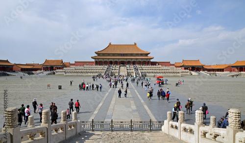 Photo Stands Beijing Peking - Verbotene Stadt 03