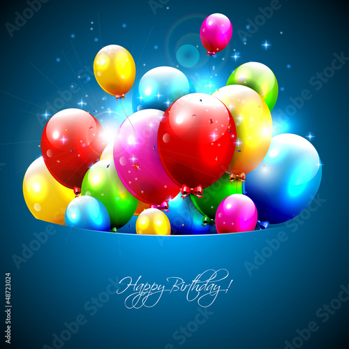 Photo  Colorful balloons flying out of pocket