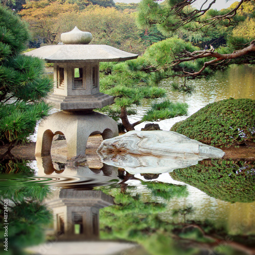 In de dag Japan Jardin zen japonais