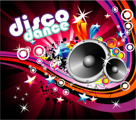 FototapetaDisco Colorful Flyer Background