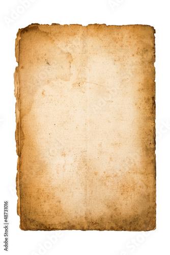 Obraz Old parchment - fototapety do salonu