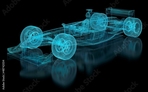 Poster F1 Formula One Mesh