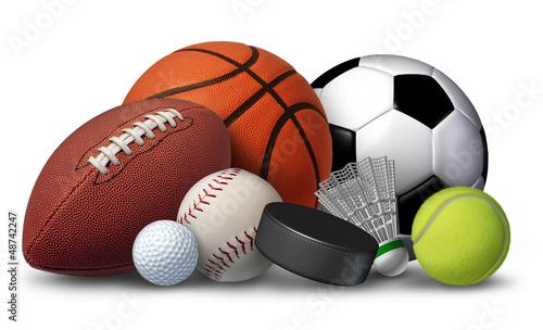 Foto-Schmutzfangmatte - Sports Equipment (von freshidea)