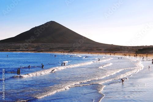 Tenerife, El Medano beach, Canary Island Tenerife, Spain