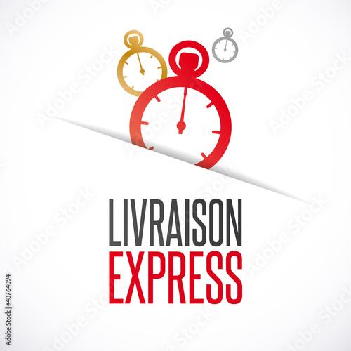 Fotografia, Obraz  Livraison express