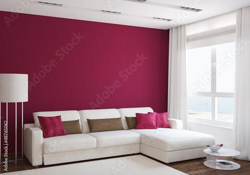 Fotografie, Obraz  Modern living-room