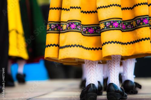 Traditional Spanish Dance плакат