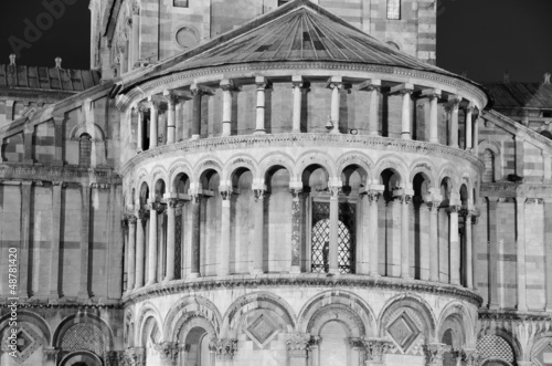 Duomo in Pisa by Nignt, Architectural Detail