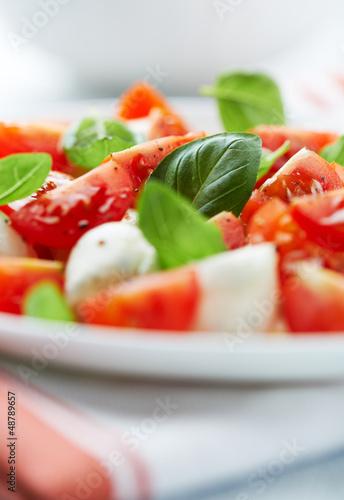 Recess Fitting Appetizer Caprese Salad