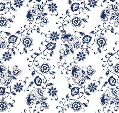 tradycyjny-paisley-kwiatowy-wzor-tkanina-radzastan-indie