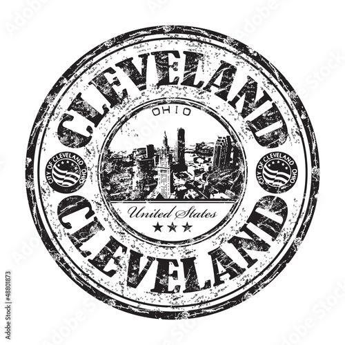 Valokuva  Cleveland grunge rubber stamp