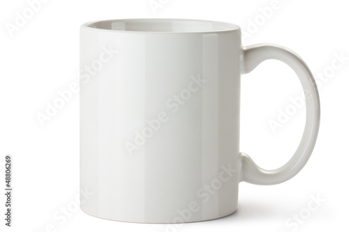 White ceramic mug Canvas-taulu