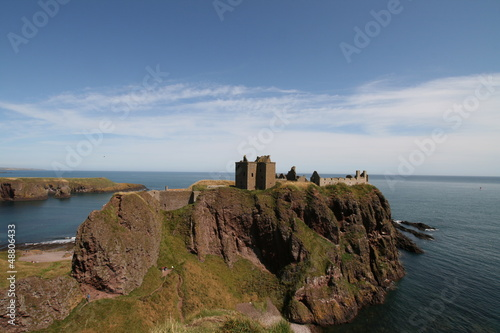 Photo Dunottar Castle Scotland