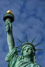 New York Statue Of Liberty Head And Torch