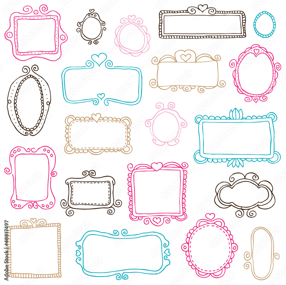 Fototapety, obrazy: Photo frame drawing icon element vector illustration in vector