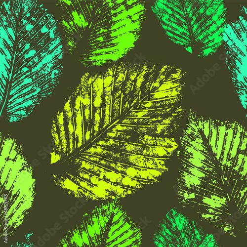 swieza-zielen-opuszcza-slada-bezszwowego-wzor-wektor