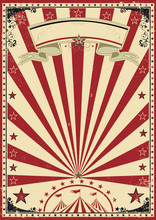 Circus Red Vintage