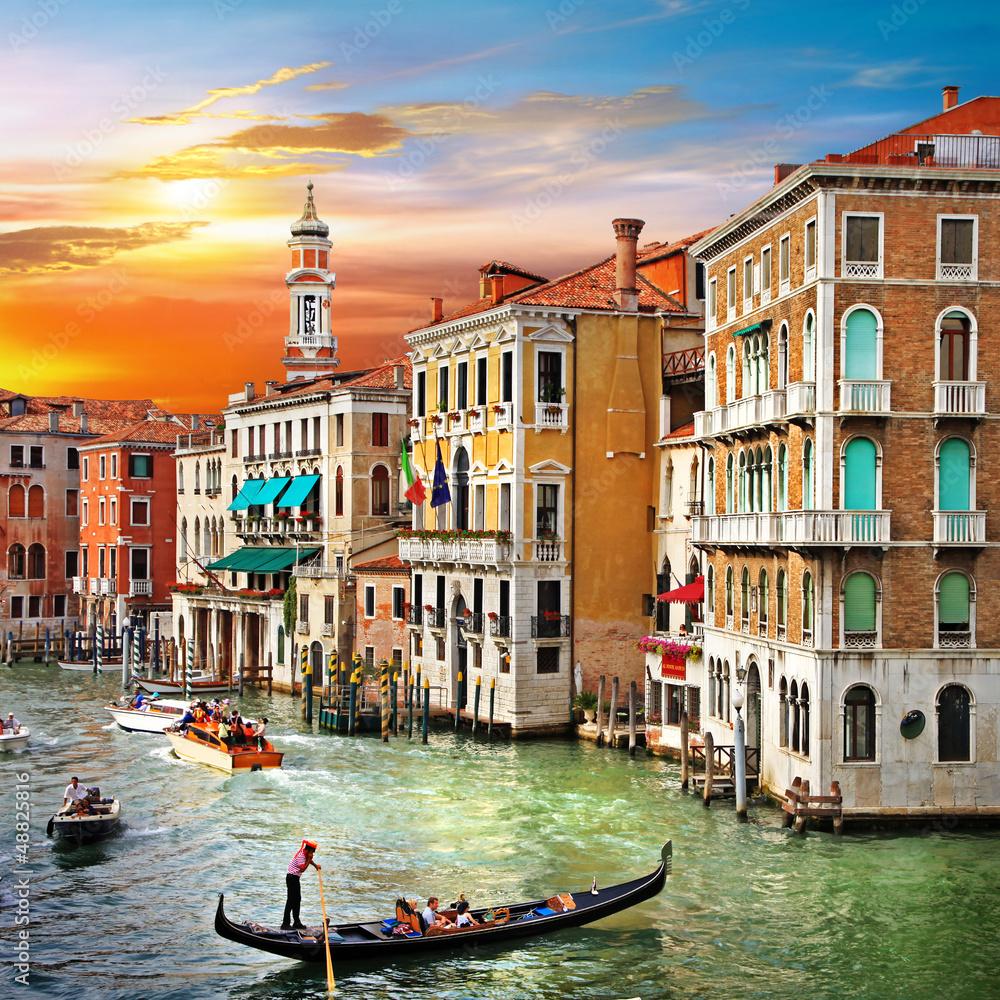 Fototapety, obrazy: Venetian sunset