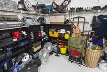 Thrift Store Garage Sale Merchandise