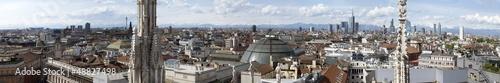 Spoed Fotobehang Milan View of Milan