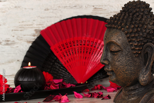 Akustikstoff - Asiatische Dekoration (von Carmen 56)