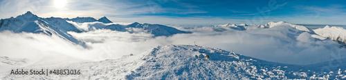 Fototapeta Panorama Tatry zimą obraz