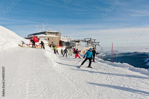 Fototapeta Kasprowy Wierch zimą obraz