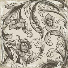 Fond Renaissance Gris
