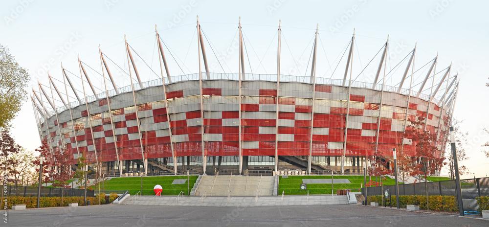 Fototapety, obrazy: National stadium Warsaw - Poland