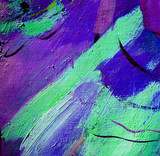 abstraction, illustration, painting by oil on a canvas