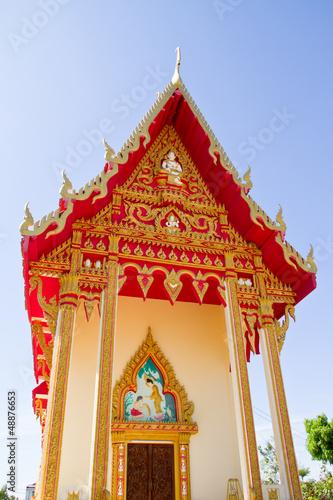 Photo  Thai Temple, Wat Dampra, Ubonratchathani, Thailand