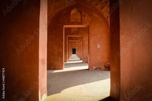 korytarz-w-taj-mahal-w-indiach