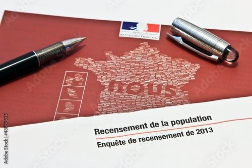 Photo  Le recensement