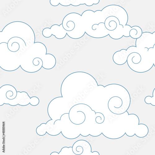 wzor-z-chmurkami