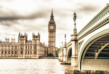 The Big Ben, The House Of Parl...