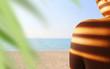 canvas print picture - Strandurlaub   Traumurlaub   Sonnenschein am Strand