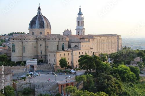 Duomo di Loreto Canvas Print