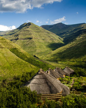 Rondavels In The Maluti Mounta...