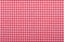Red Checkered Fabric