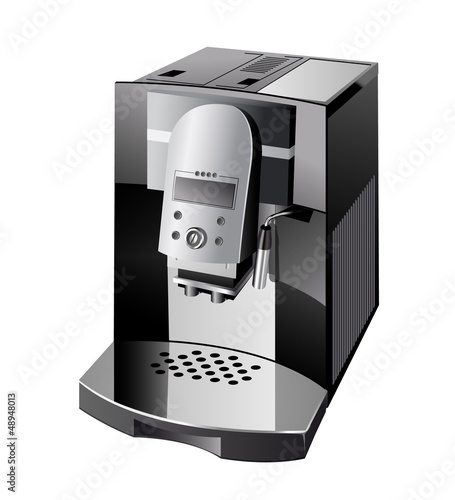 Leinwand Poster coffeemaker