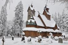 Wooden Church Wang In Karpacz ...