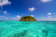 Small Secluded Island