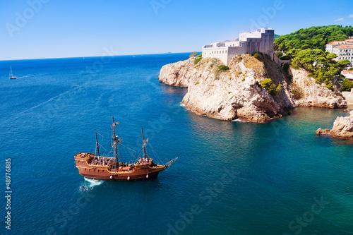 Fotografie, Obraz Authentic sail ship