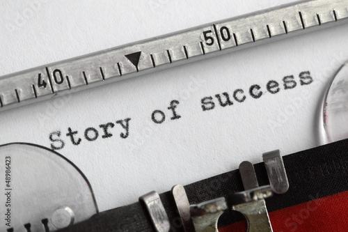 Fotografie, Obraz  Story of success