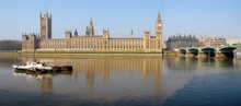 The Big Ben, The House Of Parliament