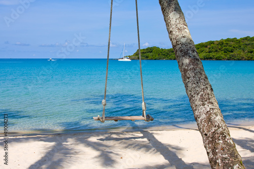 Tuinposter Koraalriffen Beautiful tropical beach , Thailand