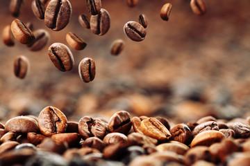 Panel Szklany Do kawiarni Kaffeebohnen 4