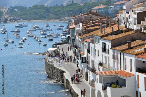 Foto-Kassettenrollo premium - Paisaje de la Costa Brava