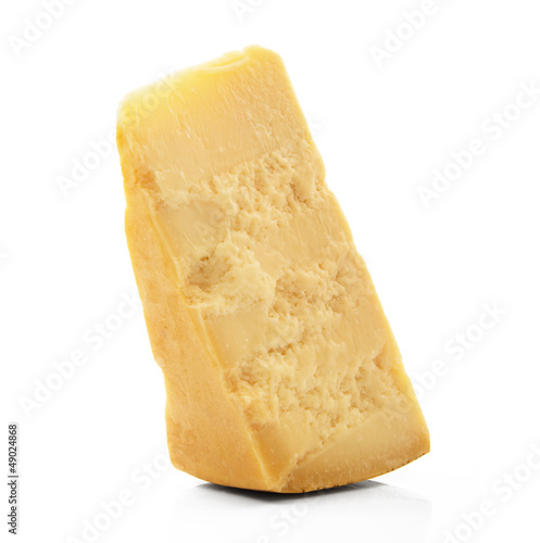 Fotografie, Obraz  fetta di formaggio grana