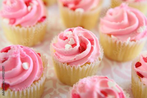 Photo  Pink Cupcakes